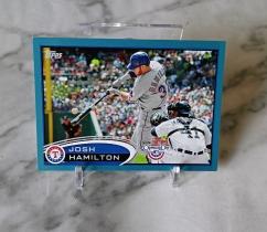 【栗子拍卖】2012 TOPPS系列 棒球 限量 2012编 汉密尔顿 经典系列 收藏必备
