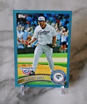 【栗子拍卖】2011 TOPPS 棒球系列 限量 蓝折 2011编 贝尔 经典系列 收藏必备