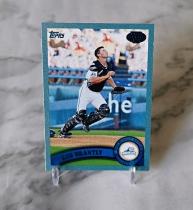【栗子拍卖】2011 TOPPS 棒球系列 限量 蓝粉折 309编 布兰特利 经典系列 收藏必备