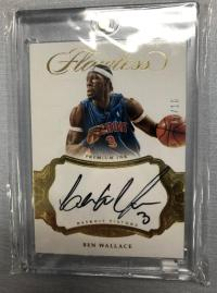 2016-17 Panini FLAWLESS Ben Wallace(大本)签字卡07/10