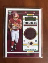 2019 Panini Contenders - Rookie Ticket Swatches #RTS-14-Bryce Love