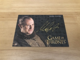 [欧皇拍卖]HBO 权力的游戏 金笔签字 泰克·奈斯托瑞斯 马克·加蒂斯 实卡美爆!专收必备!