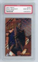 NBA球星卡 麦迪 麦蒂 TOPPS 1997 新秀 PSA评级卡10 O2005099