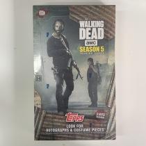 【盐角草拍卖】2016年 Topps The Walking Dead 行尸走肉 第五季 收藏卡 原封盒卡 每盒2hit 每包6张 每盒24包