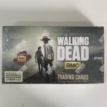【盐角草拍卖】2016年 Cryptozoic 行尸走肉 The Walking Dead 第四季 原封盒卡 每盒至少1签字1实物 5张每包 24包每盒 第二盒
