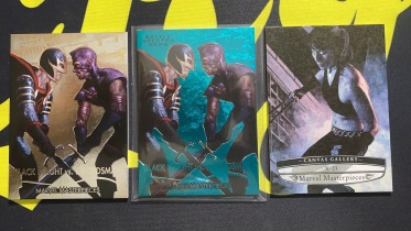 【Lucky球星卡店官方代拍-LE+0921】1920 Marvel Masterpieces 漫威 特卡打包!99编BattleSpectra 黑夜男和剑士!