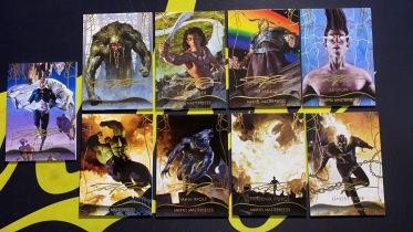 【Lucky球星卡店官方代拍-LE+0921】1920 Marvel Masterpieces 漫威 金笔印签打包!恶灵骑士、狼人、浩克、海姆达尔等!