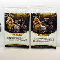 【艾之魂】2019 帕尼尼 NBA中国赛 纪念卡包 2包齐拍 含詹姆斯 浓眉 科比 杜兰特 欧文等 C1-C9 极具纪念意义(第2组)湖人 篮网【077】