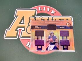 W013《答案卡世界》拍卖 2020 gold standard 金砖 拉马尔 杰克逊 Lamar Jackson NFL常规赛MVP 五窗 球衣 限量/199
