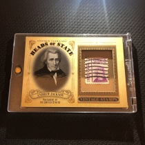 【纸牌屋】1920 UD 古德温 实物卡 名人邮票  美国第七任总统 安德鲁·杰克逊 实卡美如画 专收凑套必备!【KFK】