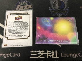 【LZK252】2017 古德温 GOODWIN 系列 大犬座矮星系 星球卡 认证证书 收藏必备!