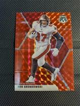 格隆考斯基(Rob Gronkowski) 马赛克MOSAIC系列 红折射 大格隆 NFL橄榄球海盗队爱国者队 布雷迪双重老搭档