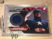 漫威 美国队长 CAPTIAN AMERICA 第一版 衣料卡