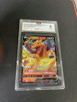 不累计「老夫子」拍卖 444 宝可梦 pokemon PTCG 日文 喷火龙V  大画闪  GBTC9 公博评级