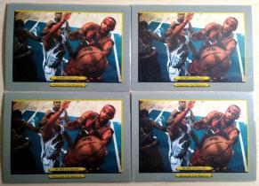 詹姆斯 lebron 2006 topps 油画效果 相框设计 上帝视角 取图角度完美 真心好看 品都还行 4张一起打包