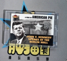 【不累计】肿猫拍卖0516151:2001topps 美国总统 肯尼迪 实物卡 柏林墙碎片 请仔细阅读拍卖说明 1167