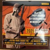 【HIT卡研究所】 2021帕尼尼 MLB 钻石国王系列 棒球卡 全新未拆封 每盒12包 每包8张 1签名 1实物 3平行 12特卡 收藏投资俩相宜(1)