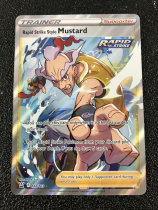 B00 宝可梦 美版 Pokemon - Rapid Strike Style Mustard - Battle Styles 闪卡 TCG卡友专收!