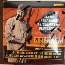 【HIT卡研究所】 2021帕尼尼 MLB 钻石国王系列 棒球卡 全新未拆封 每盒12包 每包8张 1签名 1实物 3平行 12特卡 收藏投资俩相宜(2)