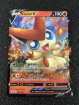 B00 宝可梦 美版 Pokemon Battle Styles Victini V Ultra Rare 021/163 TCG卡友专收!