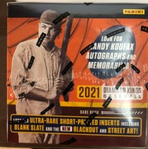 【HIT卡研究所】 2021帕尼尼 MLB 钻石国王系列 棒球卡 全新未拆封 每盒12包 每包8张 1签名 1实物 3平行 12特卡 收藏投资俩相宜(3)