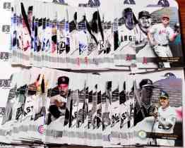 【天龙球星卡】 UNI 2020 MLB TOPPS GOLD LABEL FIRST CLASS 折射打包 麦克特劳特带队 共约40张