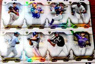 【天龙球星卡】 UNI 2020 MLB TOPPS BUNT系列 折射厚卡base打包 BELLINGER JIMENEZ 共8张