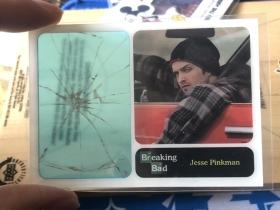 神剧 绝命毒师 小粉 杰西 Jesse pinkman 塑料玻璃特卡
