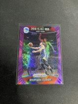 不累计「老夫子」拍卖 001  PRIZM 2014-15 all-nba 勇士 库里curry 紫折 折射 /99