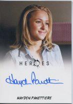 美剧 英雄 Heroes Claire 克莱尔 海顿 潘妮蒂尔 签字 签名