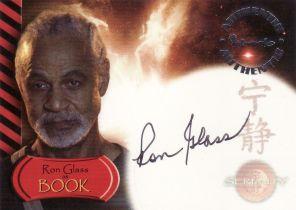 美剧 萤火虫 Firefly Ron Glass BOOK 签字 签名