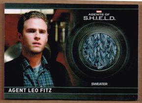 美剧 漫威 Shield 神盾局特工 菲兹 Fitz 实物卡 戏服