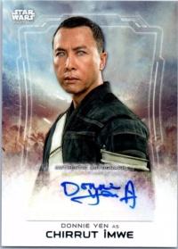 电影 Star Wars 星球大战 星战 甄子丹 签字 签名