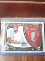 2016 Topps Museum Collection 圣路易斯红雀 Adam Wainwright Patch 02/35