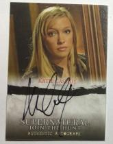 美剧 邪恶力量 Supernatural Ruby Katie Cassidy 签字 签名 绿箭 黑金丝雀