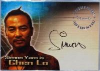 电影 古墓丽影 Tomb Raider Simon Yam 任达华 签字 签名