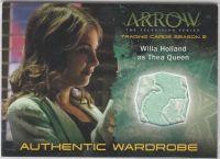 美剧 DC 绿箭侠 Arrow Thea Queen Willa Holland 实物卡 戏服