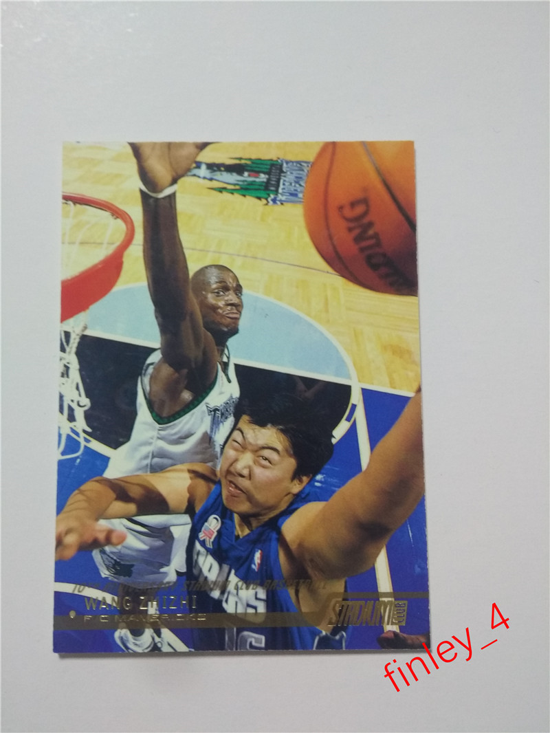 2002 topps 小牛队 王治郅 球星卡大郅