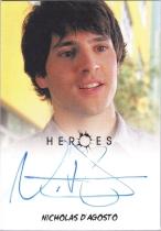美剧 英雄 Heroes 尼古拉斯 达格斯托 签字 签名 哥谭 死神来了