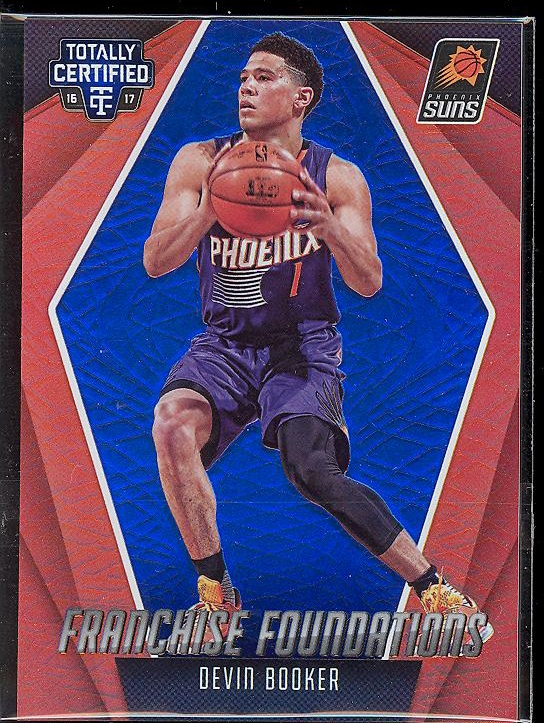【B】2016-17 Panini totally certified 卫生巾 蓝折 布克 /99
