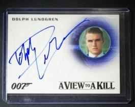 电影 007 James Bond 詹姆斯邦德 道夫·龙格尔 签字 签名 敢死队