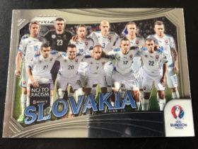 2016 prizm 欧洲杯 斯洛伐克 全家福特卡 no.16