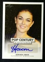 Leaf Pop Century 赛琳达 斯万 Serinda Swan 签字 异人族