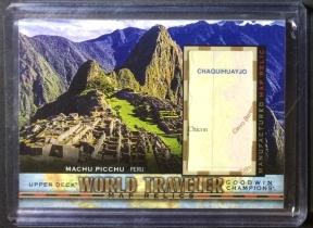 UD GOODWIN World Traveler Maps 地图 Machu Picchu 马丘比丘 秘鲁
