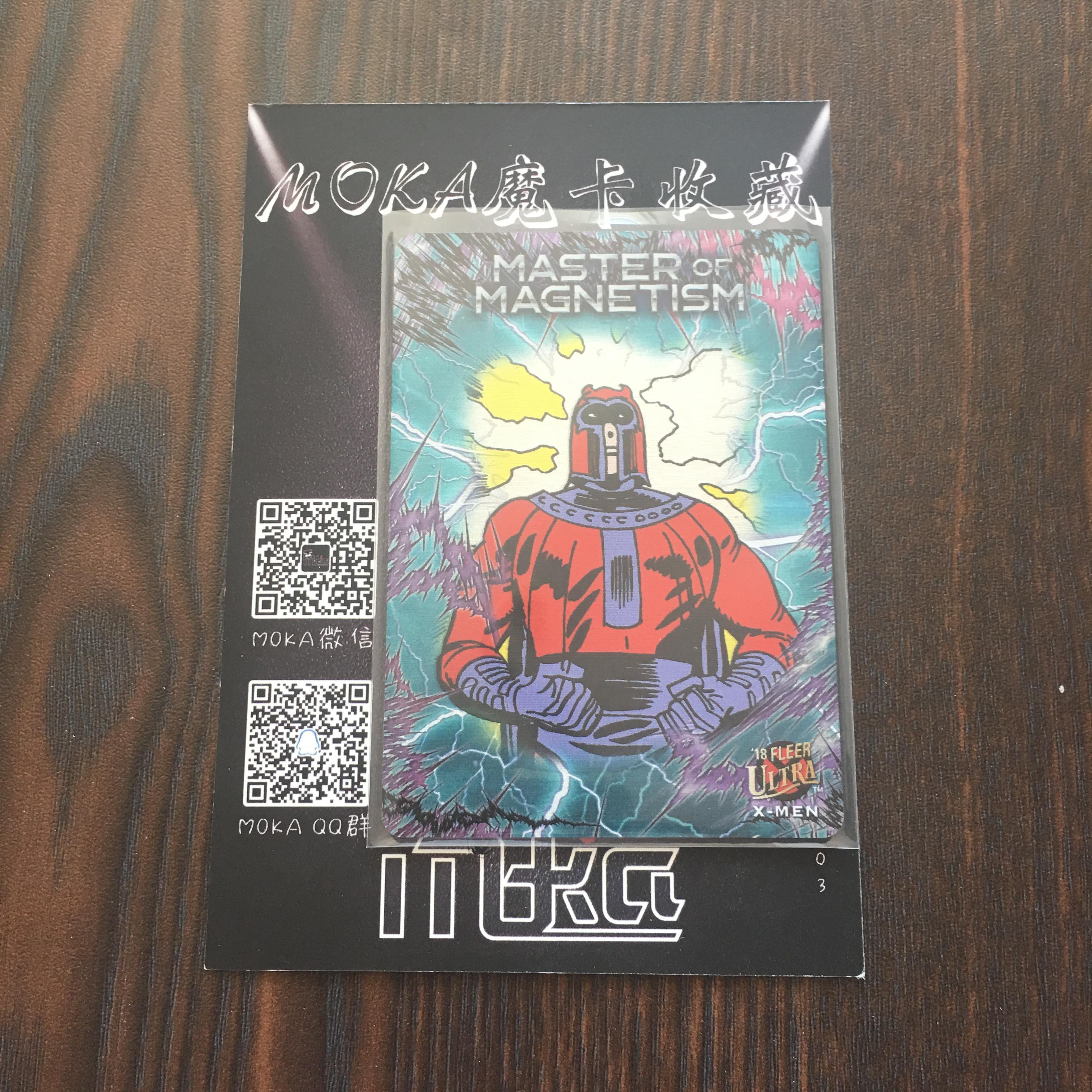 【MOKA球星卡收藏】#1804364 2018 Fleer X战警 铁板卡 大比例 编号 MM1 凑套必备