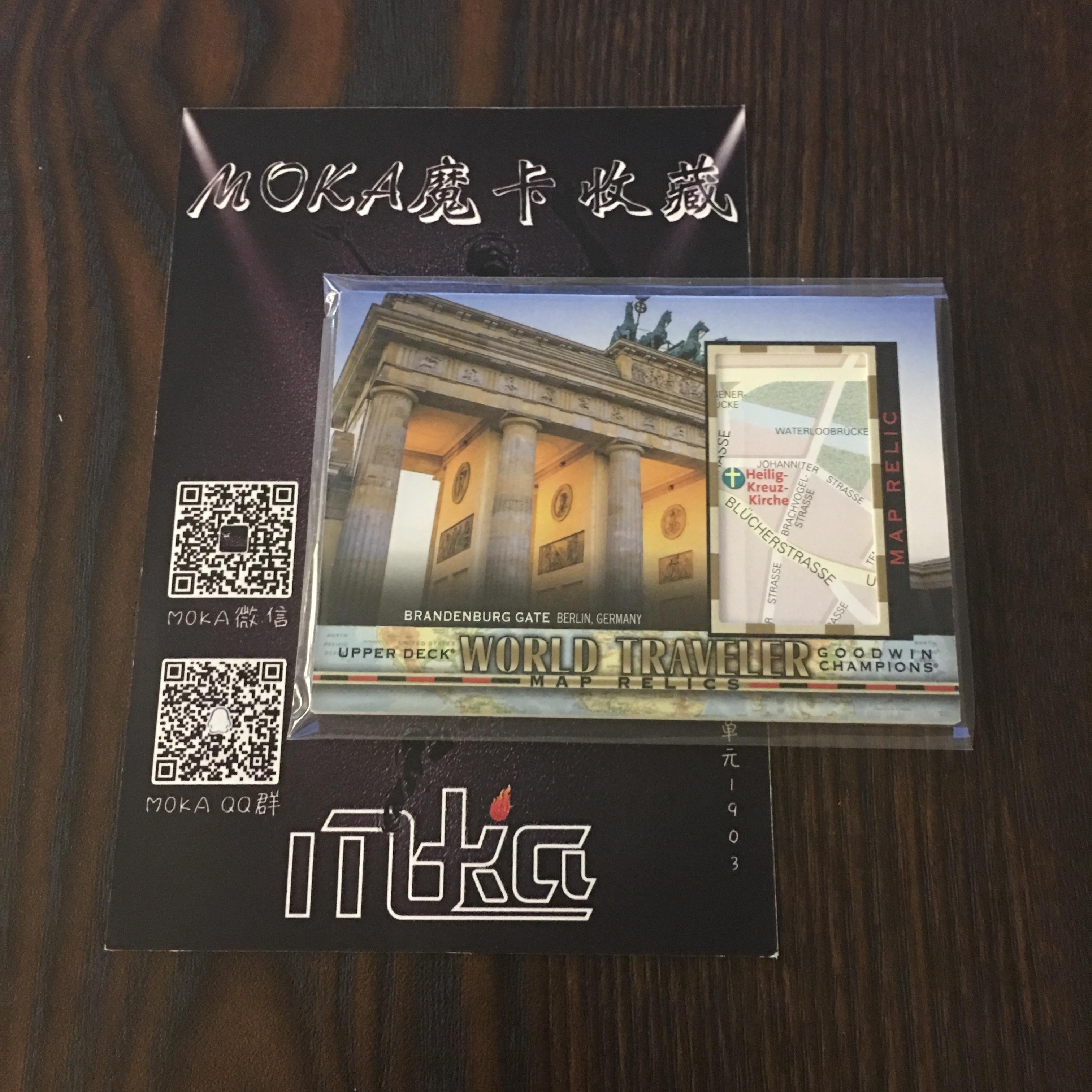 【MOKA球星卡收藏】#1804449 2018 UD Goodwin 古德温 地图卡 编号WT-60 凑套必备