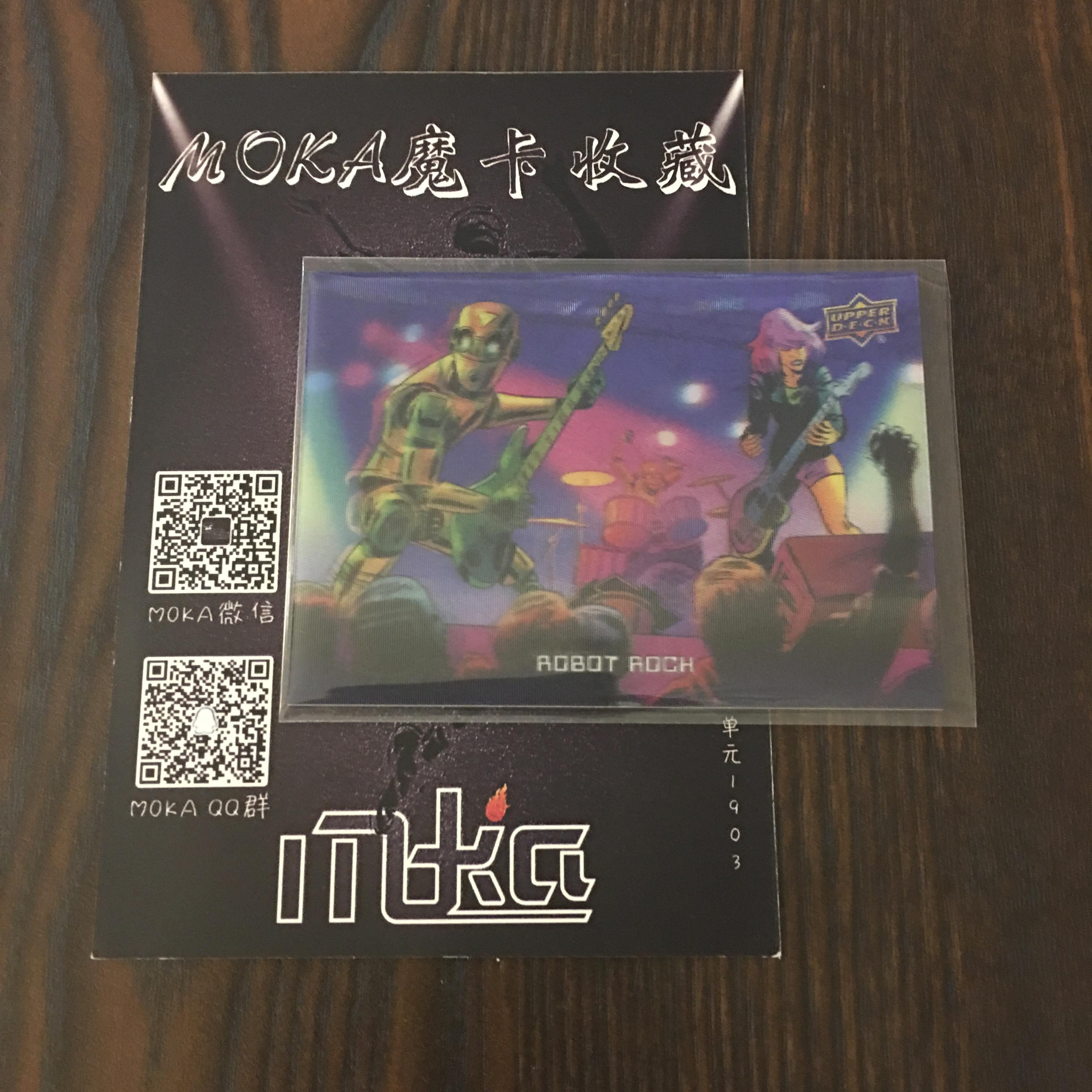 【MOKA球星卡收藏】#1804457 2018 UD Goodwin 古德温 3D特卡 编号 R-11 凑套必备