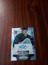 2014 Panini Prizm MLB 棒球 水手 新秀 RC James Paxton 卡签