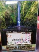 2018 UD Goodwin 古德温 系列 大比例 世界旅行 经典切割版 精美地图卡 之 奥尼昂塔峡谷 超级稀有 超级精美
