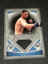 UFC 终极格斗 小麻 NATE DIAZ  内特 迪亚兹 博物馆 战服实物卡 超厚 限量99